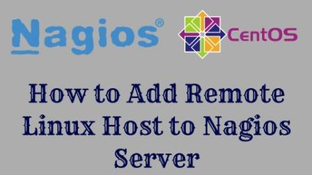 Add Remote Linux Host to Nagios Monitoring Server