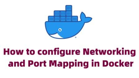 docker networking and port mapping